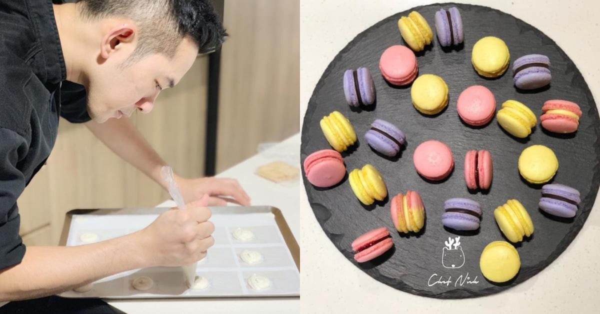 【食間到】帥哥甜點師教你3招搞定「超難做好」的高級馬卡龍