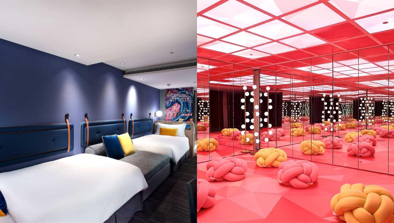 2019年台北最好拍的旅館!《捷絲旅》西門館2.0升級,想在房間美拍就選它