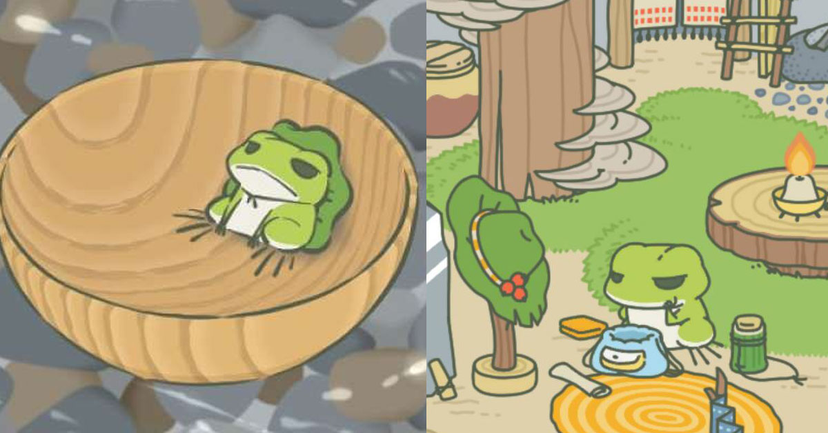 生命自己會找到出路,青蛙也是。呂秋遠告訴你,從爆紅手遊《旅行青蛙》悟出的10項道理