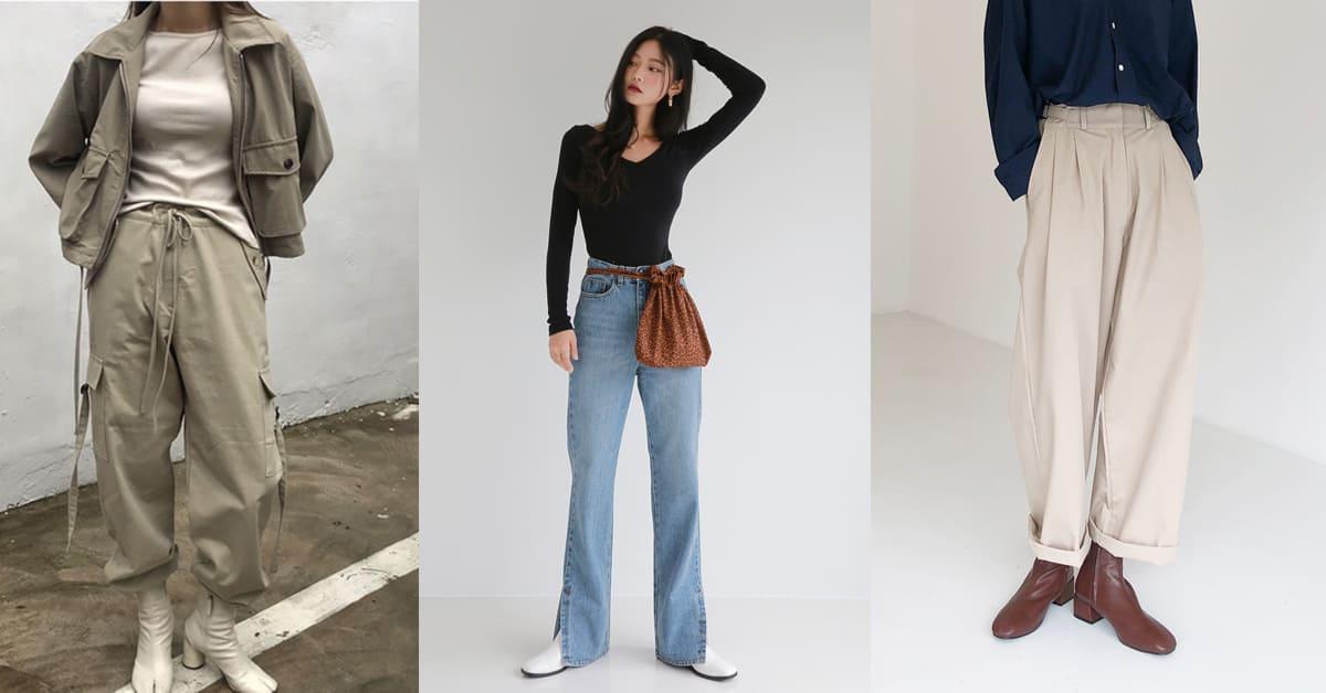 學韓妞怎麼穿出逆天長腿!掌握這5種穿褲技巧,顯瘦、拉高一次到位
