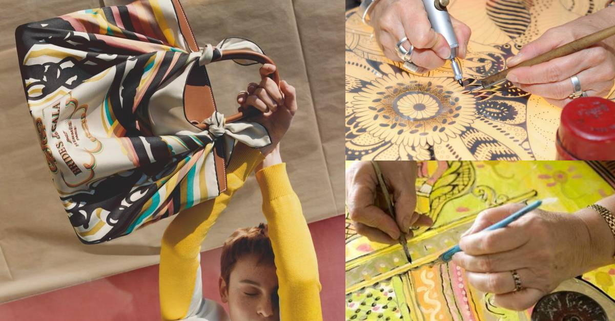 【10Why個為什麼】18個月的時間才能完成一條絲巾?Hermès像畫作般的作品,原來魅力在這!
