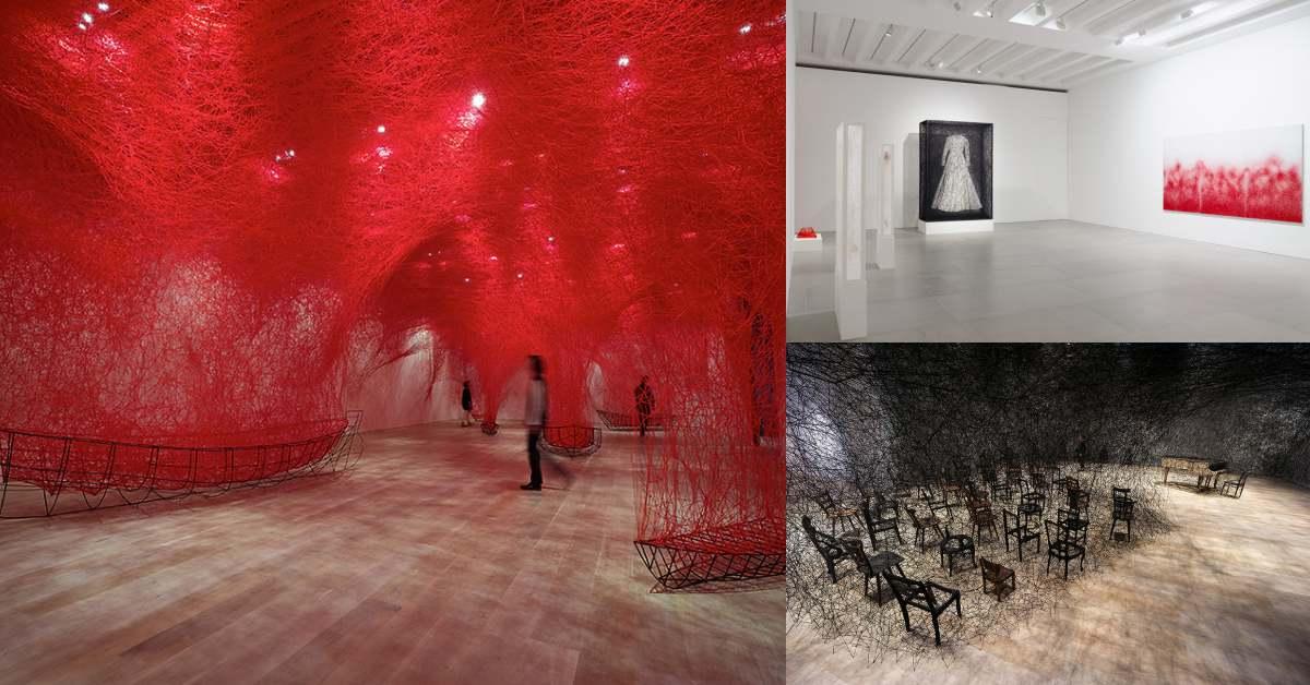 《塩田千春》展覽確定2021來台!日本參觀人數近70萬,一生一定要看一次的展覽5月登北美館