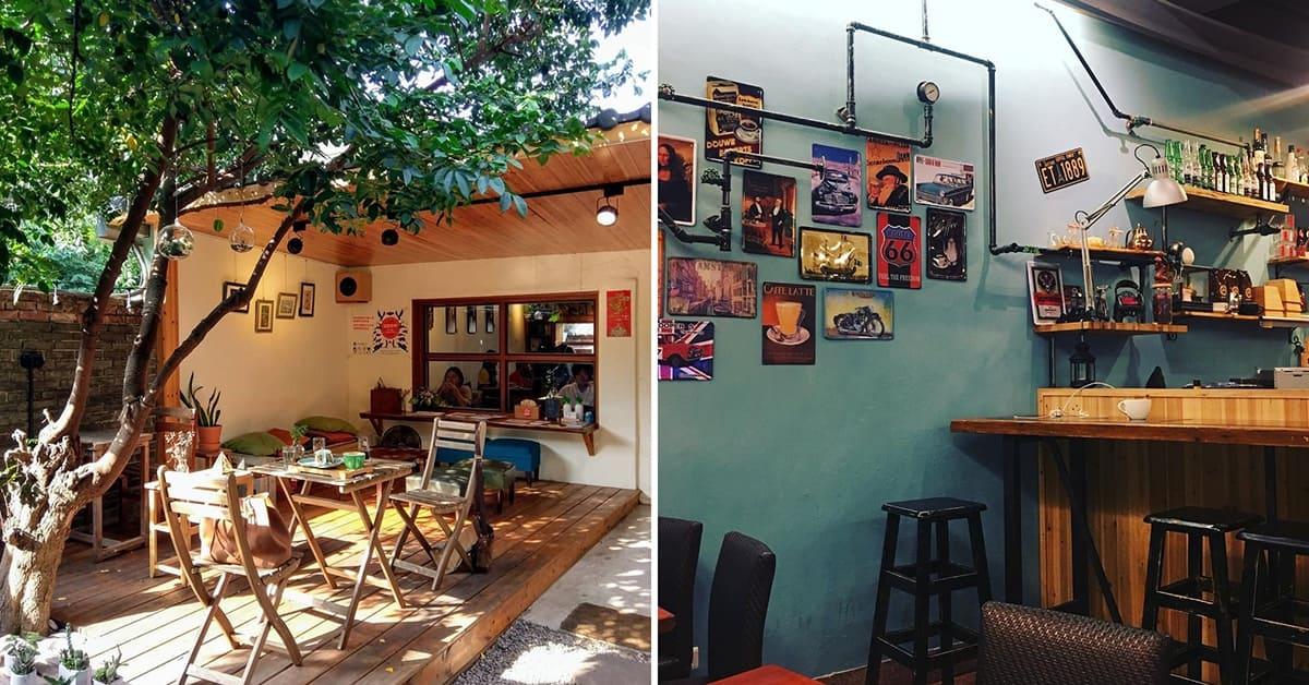 誰說中壢很無聊?這4間老宅咖啡廳給你鬧中取靜的悠閒
