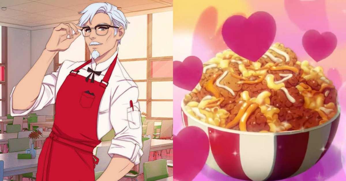 KFC推肯德基爺爺專屬戀愛遊戲!下載《我愛你,肯德基爺爺!》模擬約會