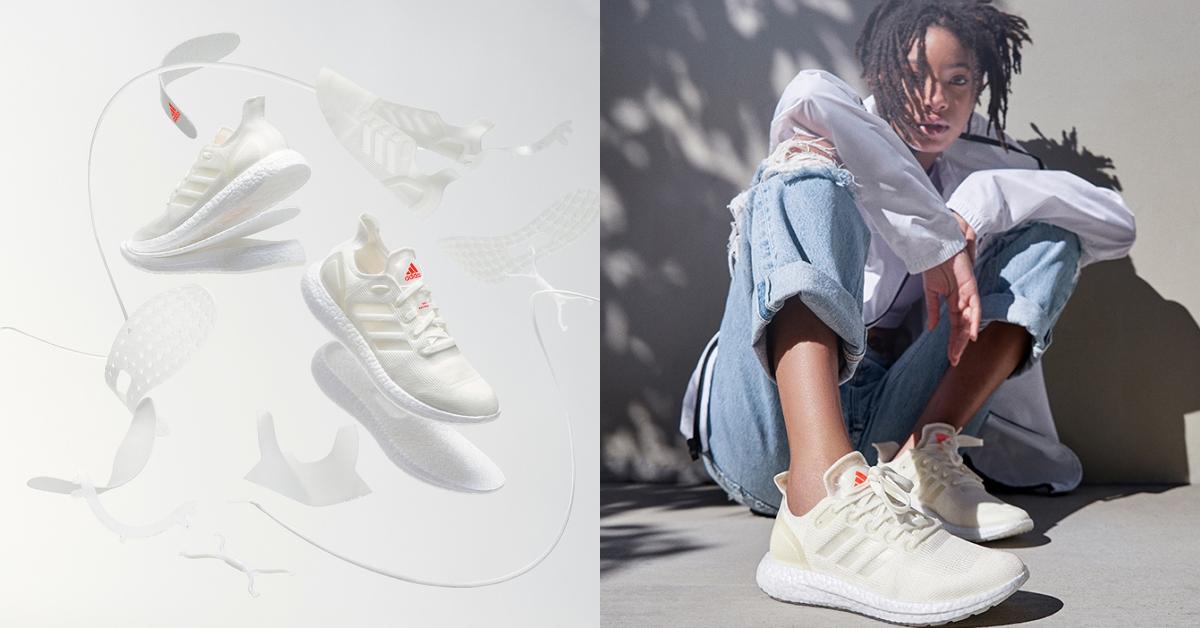 第一雙為再生製造的鞋!Adidas全新系列慢跑鞋100%可回收利用