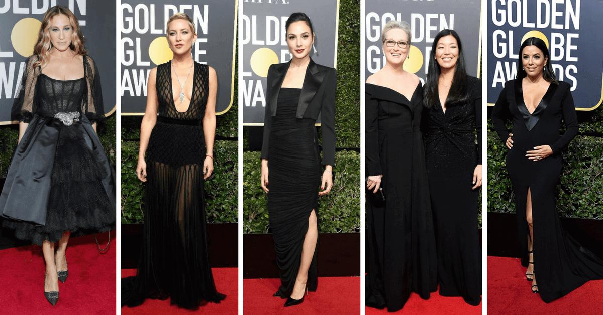 為什麼2018金球獎女星們全部穿黑色?不是靈異撞衫, 而是為了這個原因!聽聽梅姨、沙拉潔西卡帕克她們怎麼說