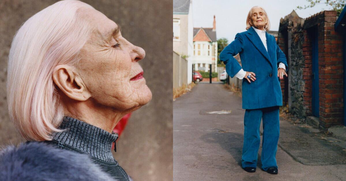歷練是歲月的特權,素人奶奶用「人生故事」點綴紐約品牌最新秋裝系列,讓時尚更有韻味
