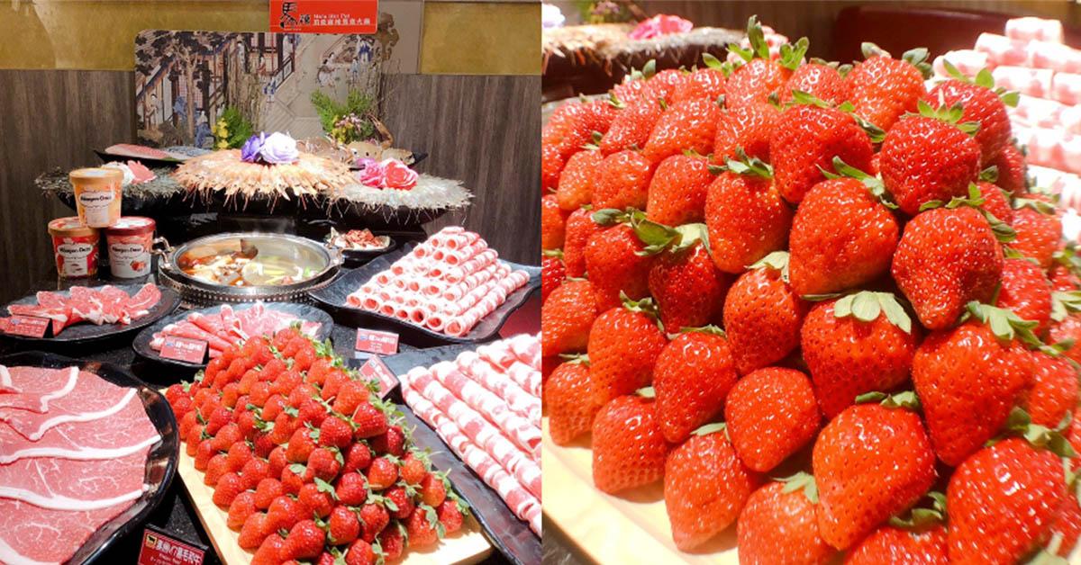 鍋物控開吃!馬辣浮誇草莓山、高CP肉片塔連日韓客人都朝聖