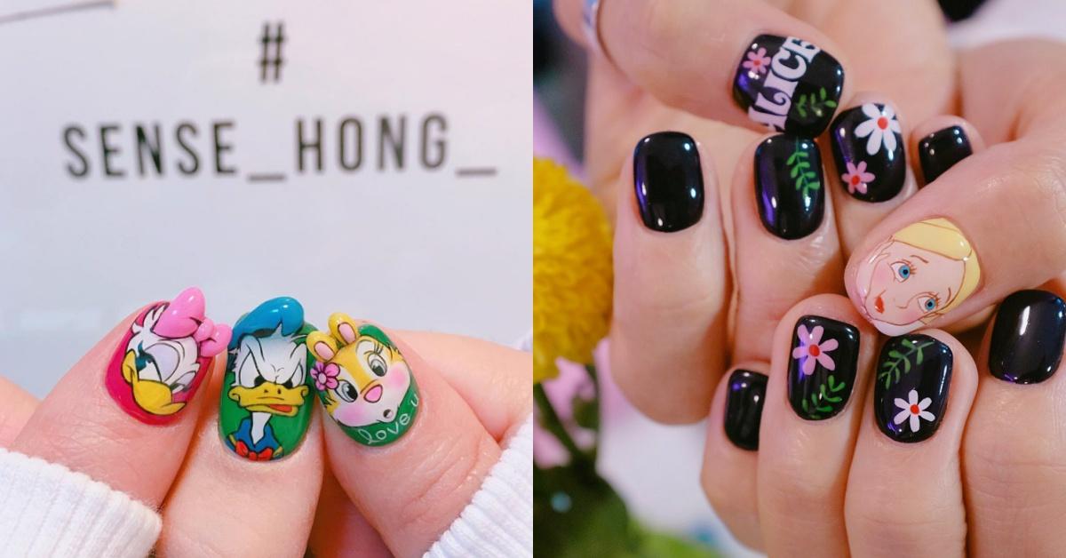 就把迪士尼通通搬到指尖上吧!去韓國絕不能錯過的超夯美甲師,她的設計就是今年HOT TREND