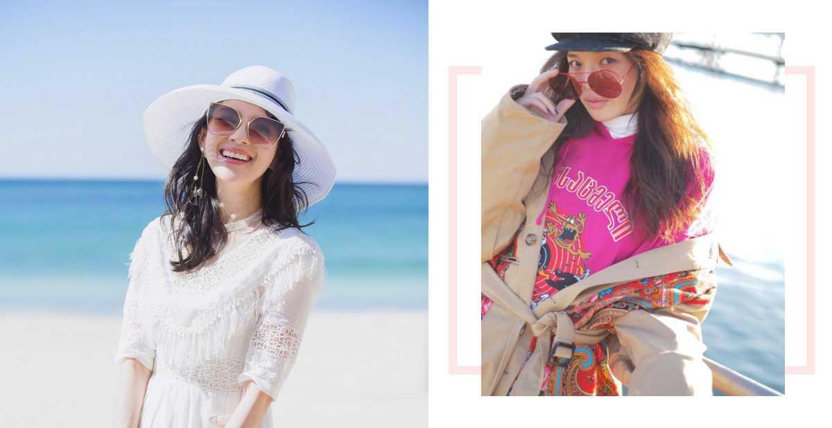 連太陽眼鏡都在夯珊瑚橘!讓舒淇、章子怡替你示範春夏最新款