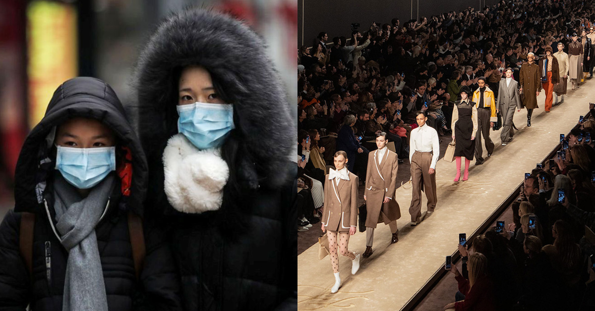 不只重挫全球經濟、旅遊航空業!武漢肺炎打亂2020秋冬四大時裝週,亞洲媒體將缺席?