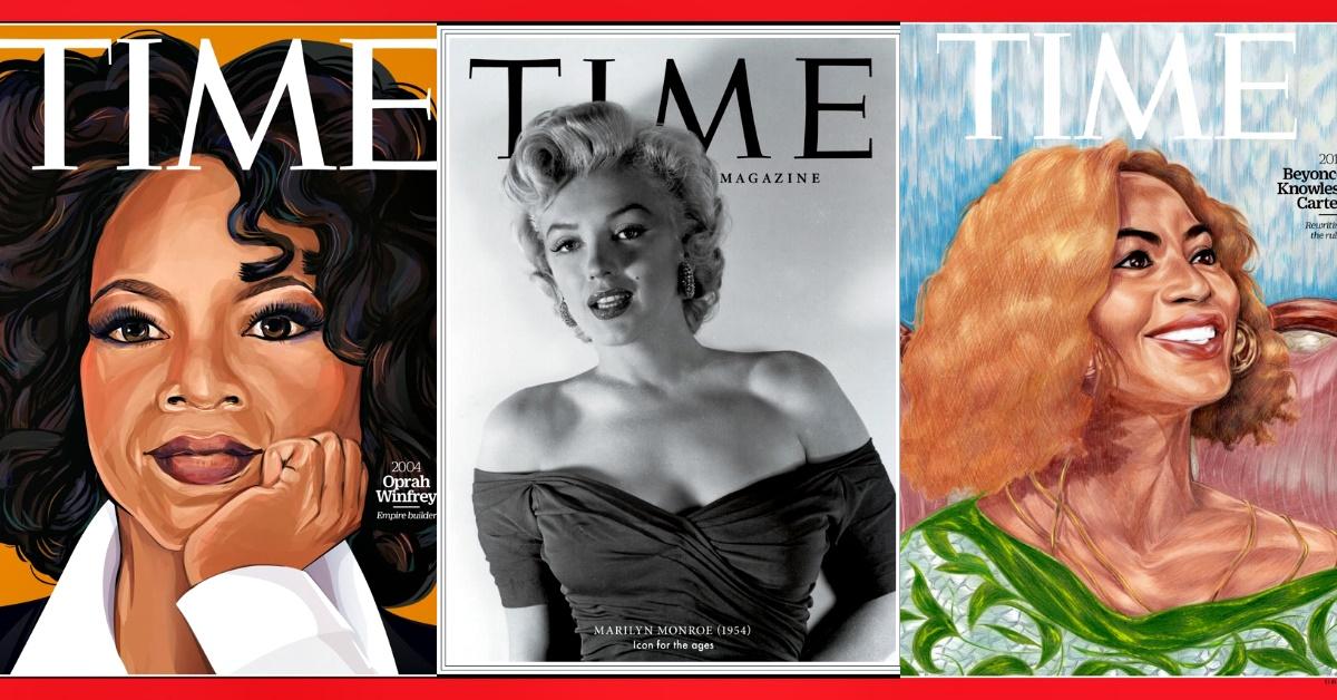 《TIME》百大女性總回顧,瑪麗蓮·夢露、歐普拉、瑪丹娜...歐美巨星齊上榜!