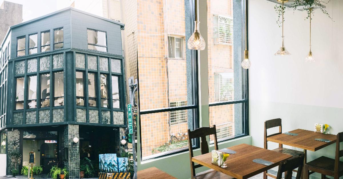 文青必訪的日式老屋「貳房苑」!全台最美Pantone綠餐廳美哭