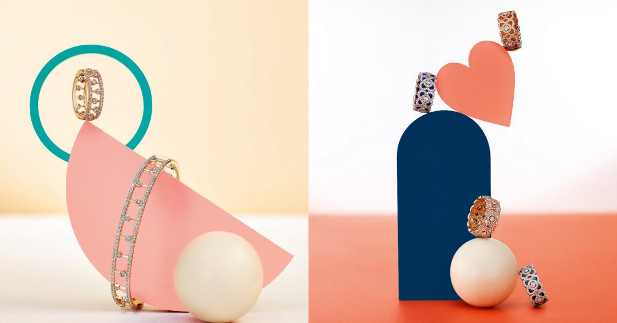 情人節禮物就用象徵永恆愛情的De Beers珠寶,為她送上滿滿心意