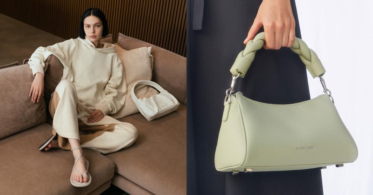Charles & Keith線上購物推薦Top 8 ! 復古方包、手提包、子母包...「這款」夢幻美包超欠買