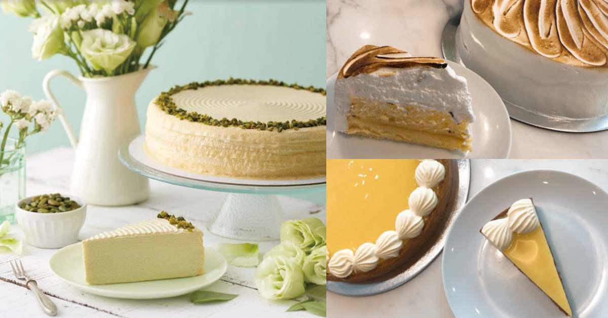 等到心都乾枯的「開心果千層蛋糕」終於來台!Lady M同時推出檸檬蛋白霜蛋糕