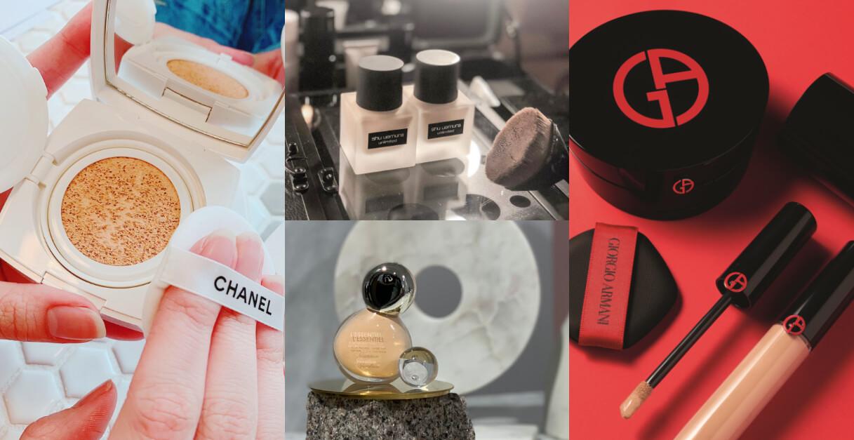 底妝也要換季!香奈兒、GA、Dior推粉底液、氣墊粉餅用「微霧光」告別冬天