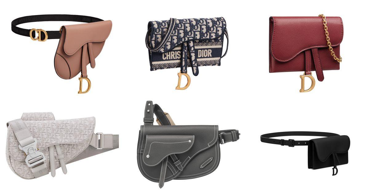 Dior馬鞍包賣到缺貨再升級!這15個延伸款馬鞍包,讓你出門不撞包!