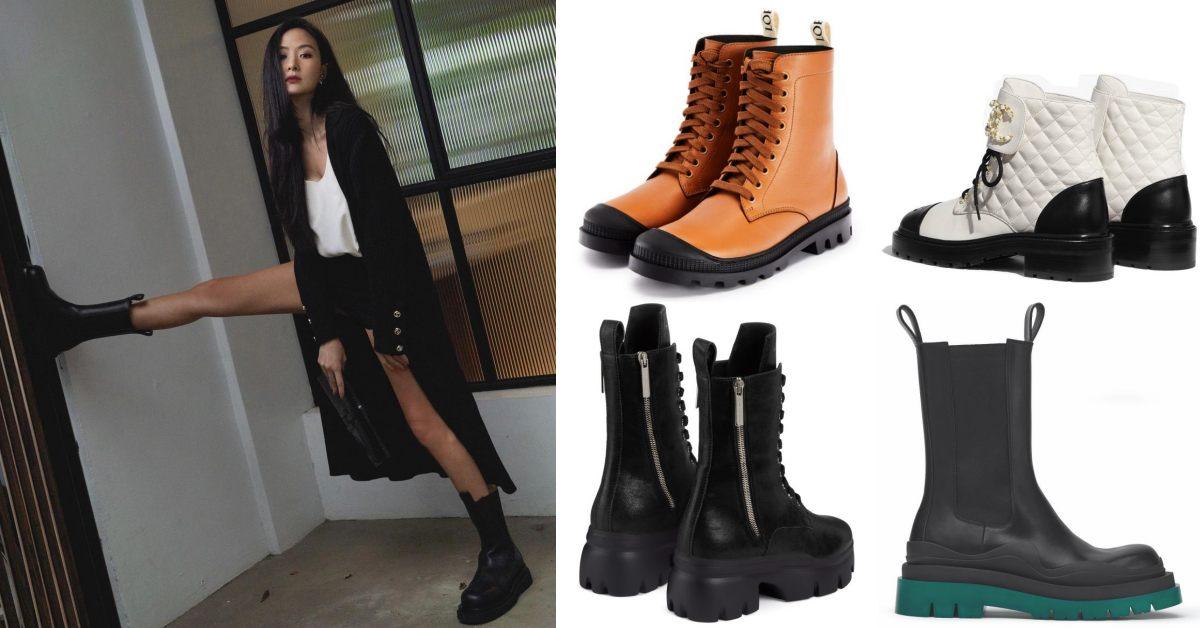 靴子搭配推薦這10雙!Chanel 、Gucci、Dior....孫芸芸跟許路兒也搶搭軍靴風潮