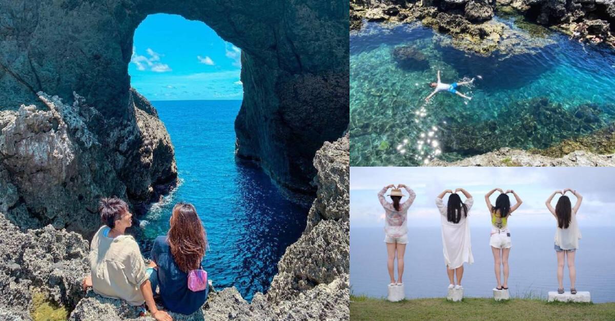 蘭嶼打卡去這8大景點!「紅頭岩」網美最愛,「這邊」海水乾淨到像馬爾地夫!