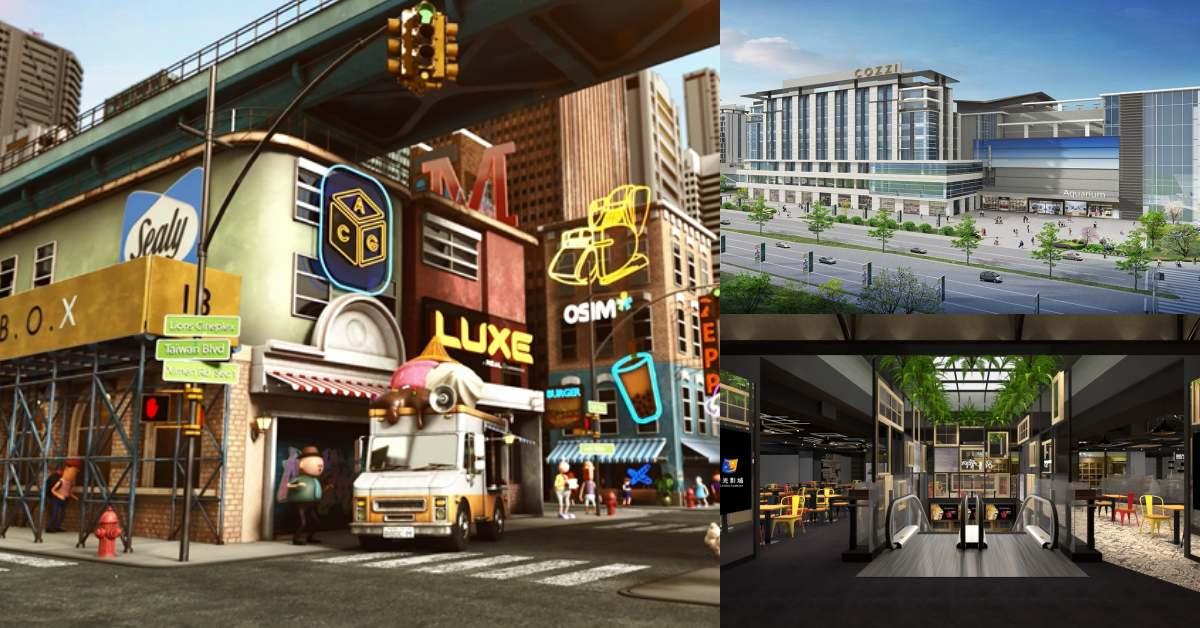 「新光影城」4億打造近萬坪桃園「娛樂城」,全台最大電影商品授權店、超多美食帶你一次看!