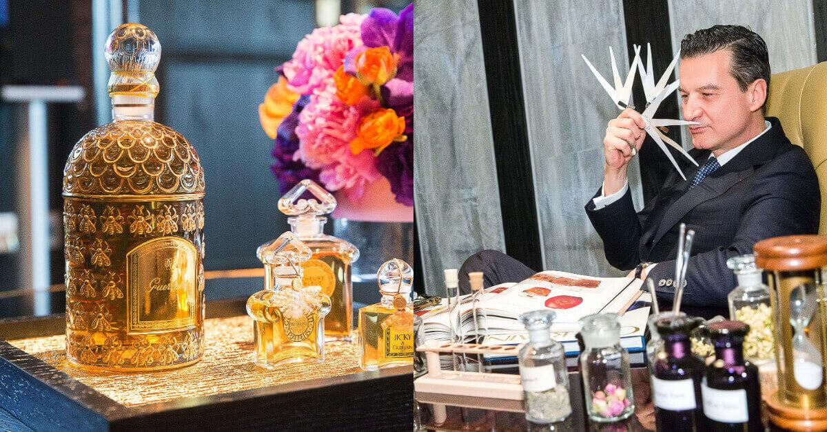 要價一台車的香水到底憑什麼?嬌蘭調香師Thierry Wasser 創作香水時原來都在想這些事!