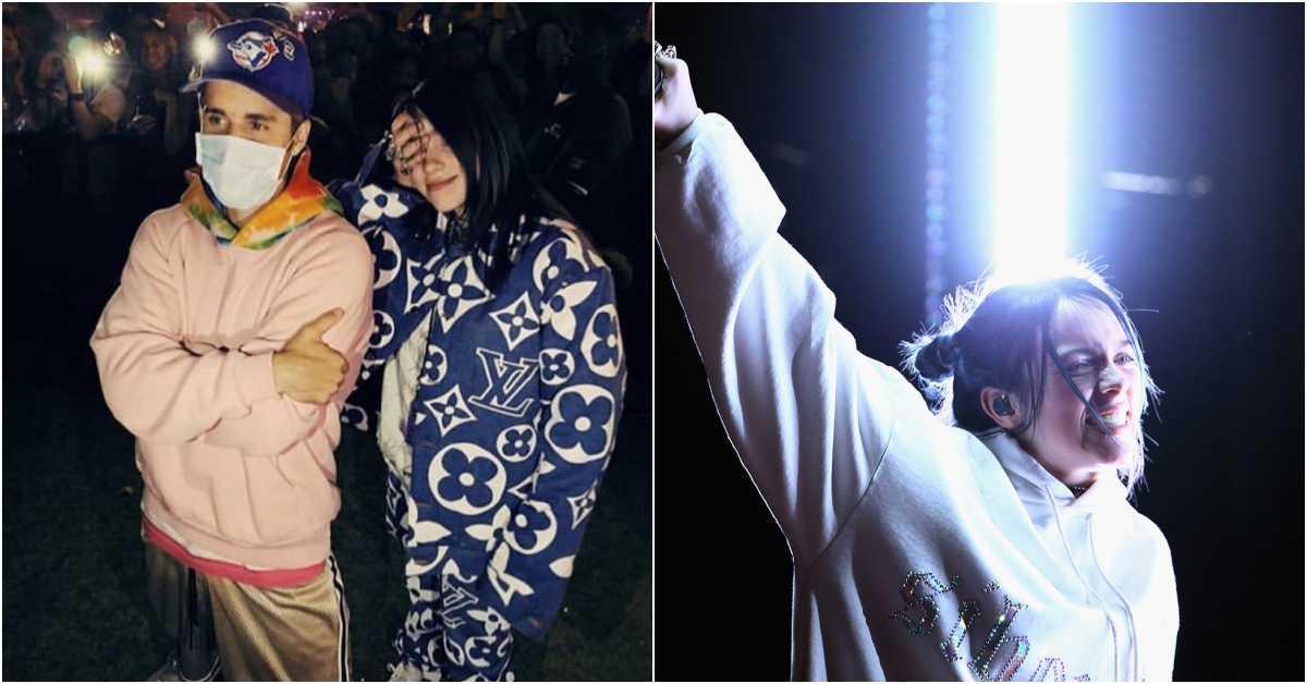 Coachella最受矚目17歲歌手Billie Eilish圓夢!與偶像小賈嬌羞合照