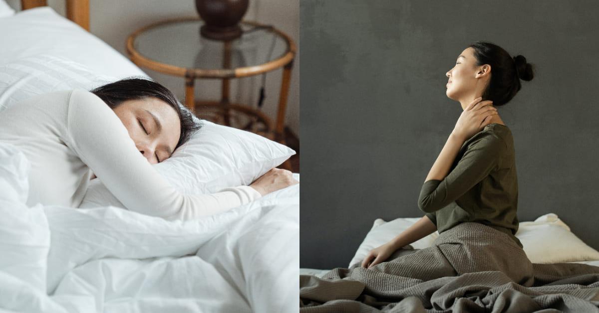 落枕怎麼救?舒緩肩頸這樣做,挑選正確高度枕頭很重要