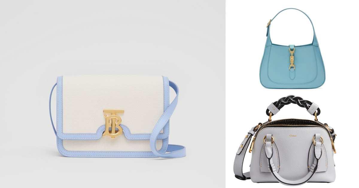 「寶寶藍」色繼續夯!Celine、Gucci到Loewe...10款「寶寶藍」包,讓妳年初拎到年尾!