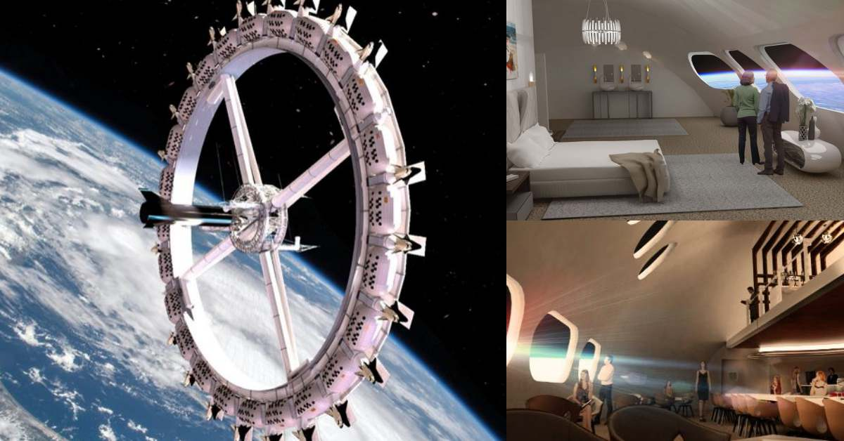 太空旅行不是夢!全球首間「太空旅館」每天環繞地球16圈,4天3夜行程預約踴躍
