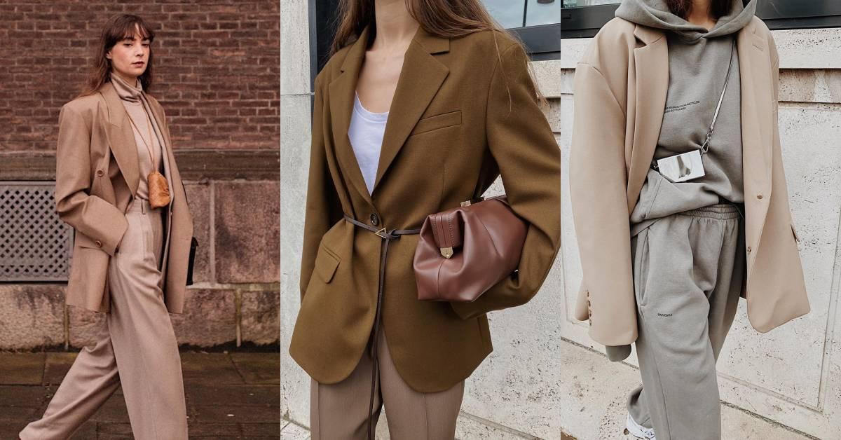 西裝外套還能怎麼穿才時髦?IG擁有30萬追蹤的部落客教妳這「3招」讓妳上班也能很時尚!