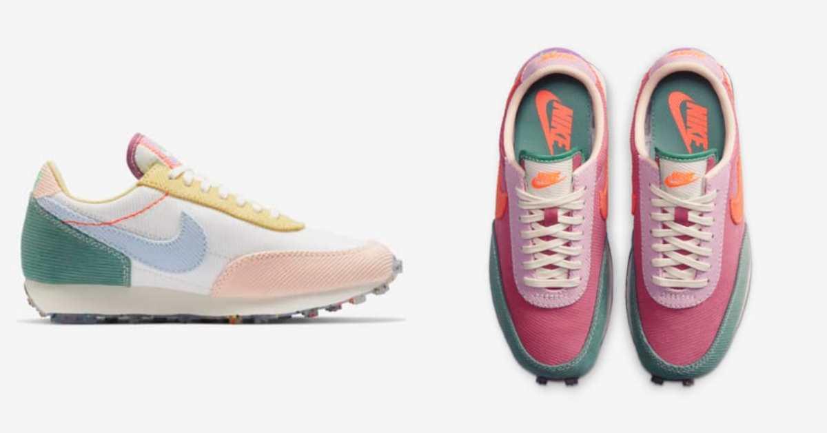 Nike這兩雙粉色復古鞋配色太夢幻!春天嫩草綠、繽紛莓果色,官網限定款現在台灣也買得到!