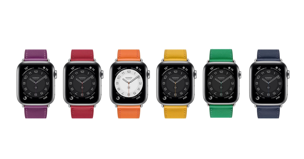 AppleWatch 6正式登場!Hermès首推8款錶帶,儂編最愛檸檬黃、嫩葉綠