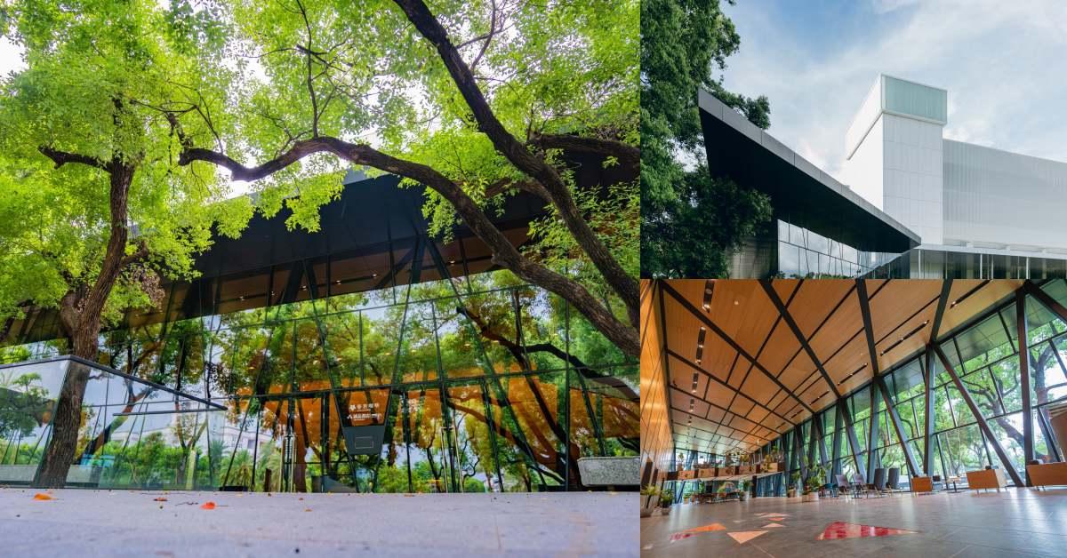 屏東縣立圖書館正式開幕!號稱台灣最美,堅持不砍園區半棵樹