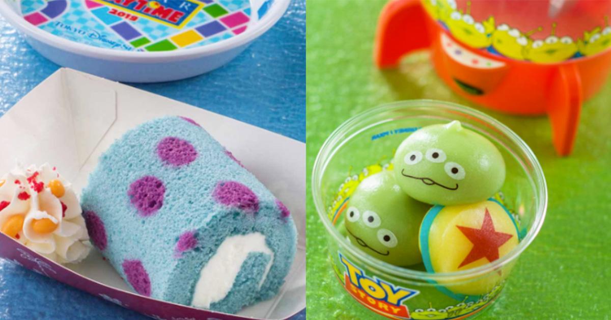 東京迪士尼海洋限定活動「皮克斯」總整理!大眼仔、三眼怪、毛怪通通變吃的