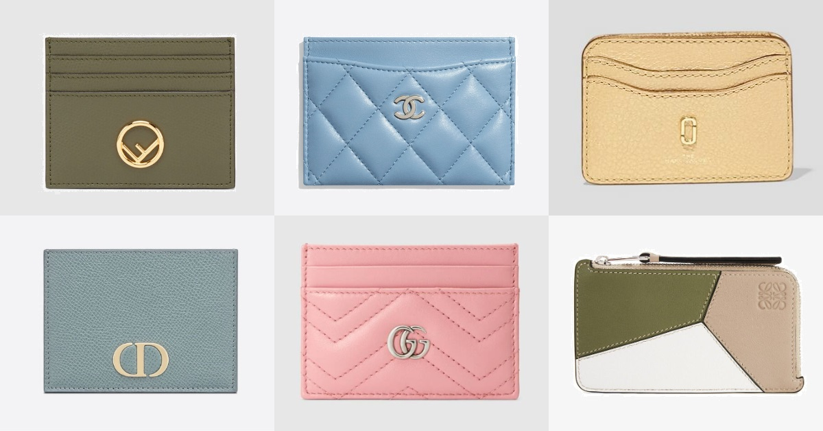 2020卡片夾推薦Top 10!Chanel、LV、Gucci...全部只要花小資女1萬上下!