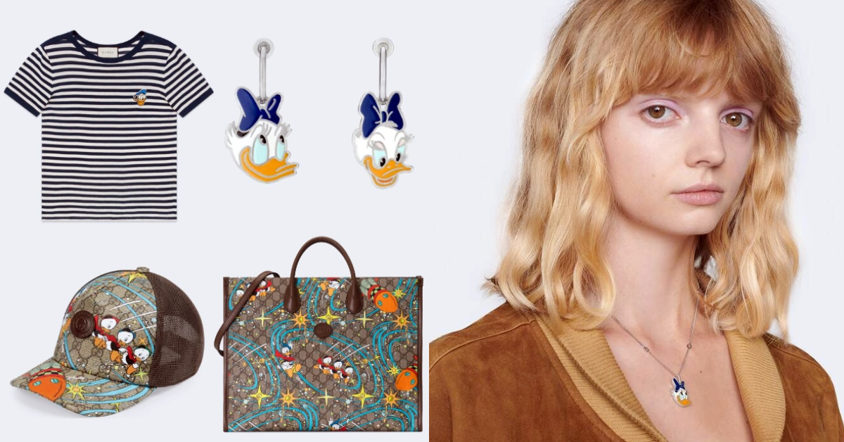 Gucci包包聯名「唐老鴨家族」!戒指、項鍊、服裝...全都有,最便宜萬元有找!