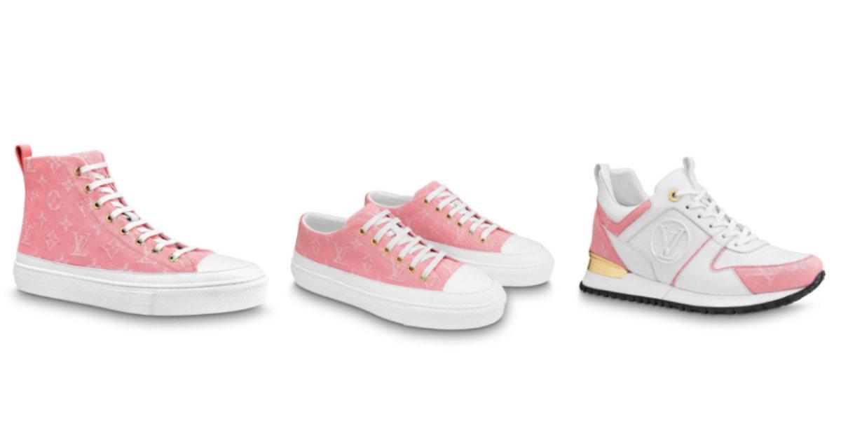 LV這3雙超美球鞋在櫃上被問翻!夢幻粉色搭配老花,你還沒跟上嗎?