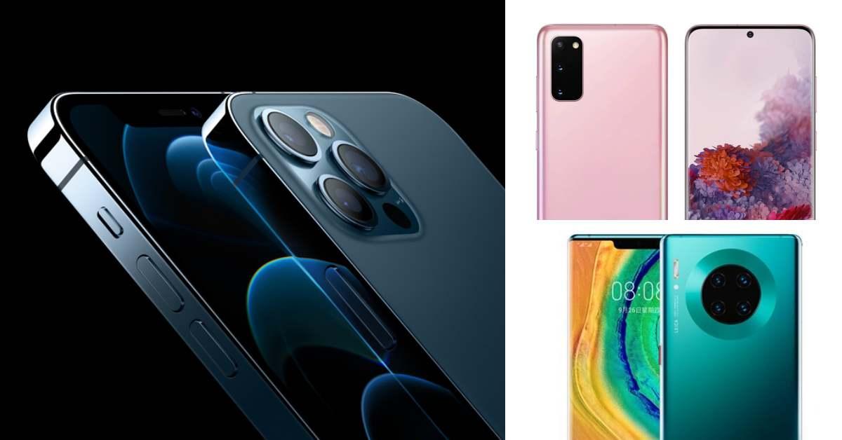 """2020上半年最暢銷5G手機前3名都由""""它""""包下!iPhone12有望奪下半年冠軍"""
