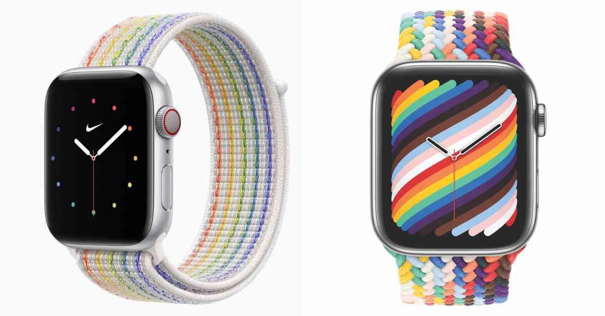 2021 Apple Watch「彩虹錶帶」限量登場!全新2款支持多元性別平等,「編織款」背後有秘密...