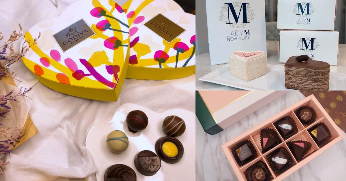 情人節禮物首選!Godiva、Häagen-Dazs等5間甜點推薦,就拿鑽石巧克力、超犯規玫瑰蛋糕送愛人
