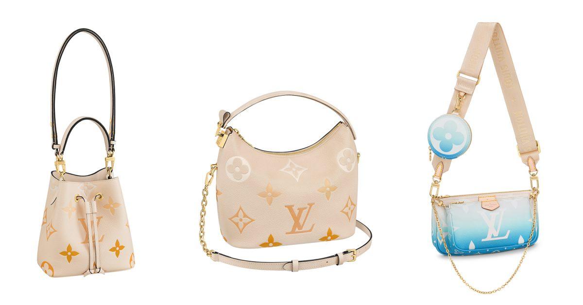 LV老花包「漸層奶茶色」推薦Top 10!水桶包、麻將包到托特包 ,絕美新色女孩荷包難守