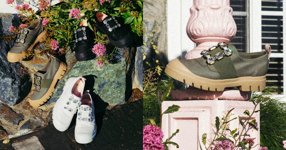 RV方釦鞋推全新「Walky Viv'」運動鞋款!結合軍靴鞋底設計,讓你時尚與休閒兩者一次兼備