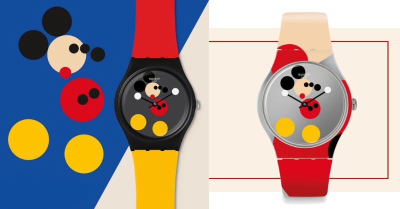 Swatch也慶祝米奇90大壽!Q萌普普風藝術畫手錶全台只有10隻