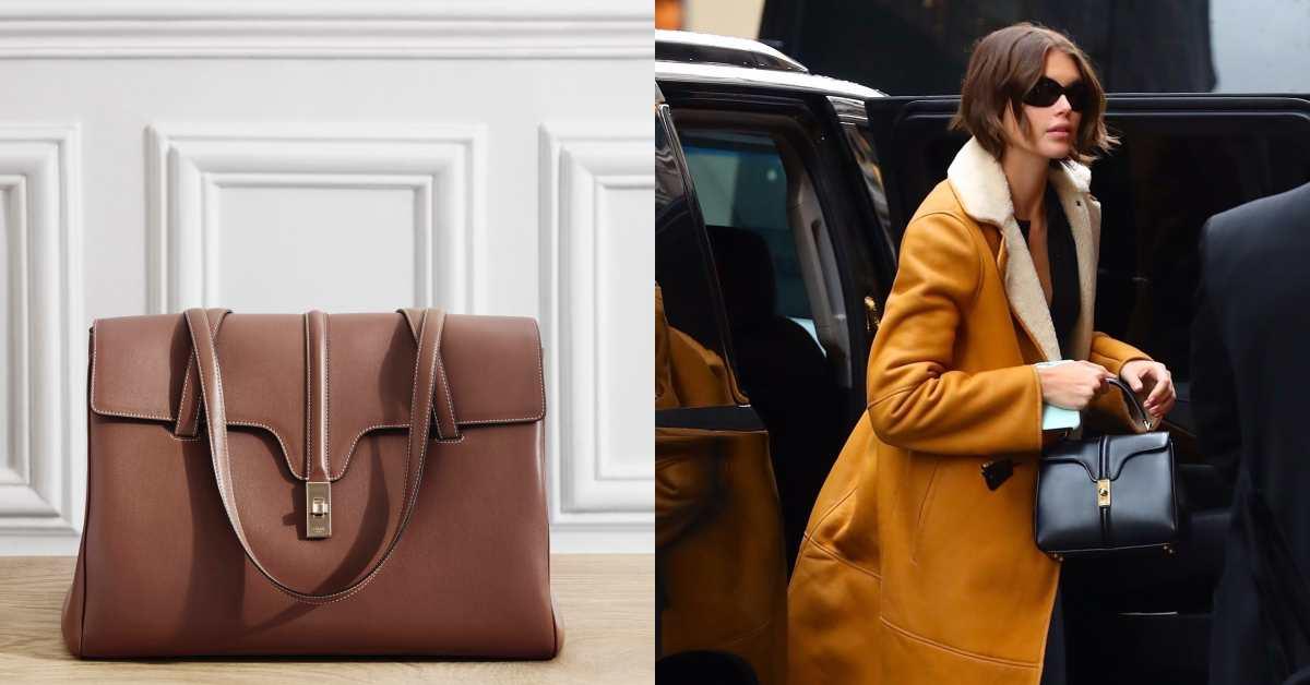 筆電、文件全都裝得下!超模狂愛的Celine 16大變身,這款OL通勤包讓妳辦公也能很時尚!