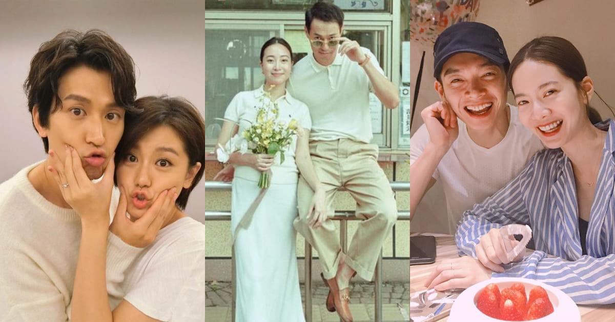 2020明星結婚他們最低調!盤點7對今年默默成婚藝人,新冠肺炎也擋不住真誠的愛!