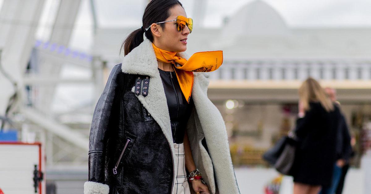 天冷就是需要一條圍巾,三種搭配方式讓妳找到不同的圍巾搭配法