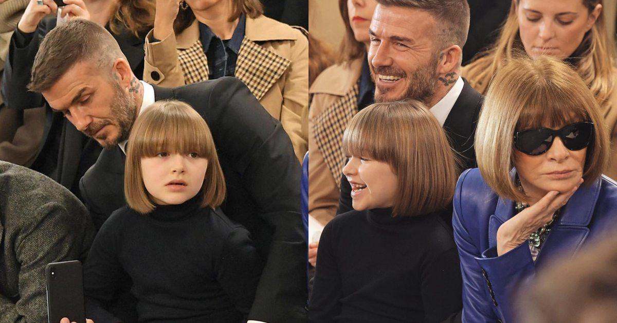 小哈潑剪了時髦鮑伯頭!與女魔頭安娜溫圖「撞頭」,髮型複製貼上