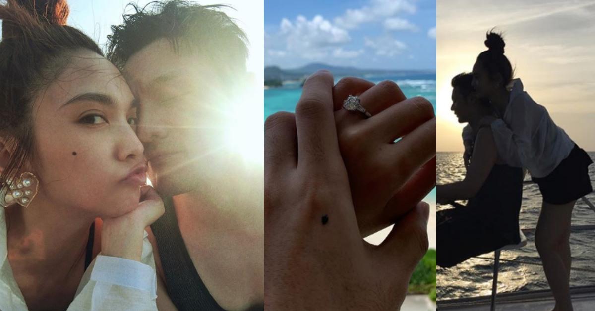 李榮浩34歲生日求婚成功!楊丞琳「Say Yes」,交往4年修成正果要結婚了