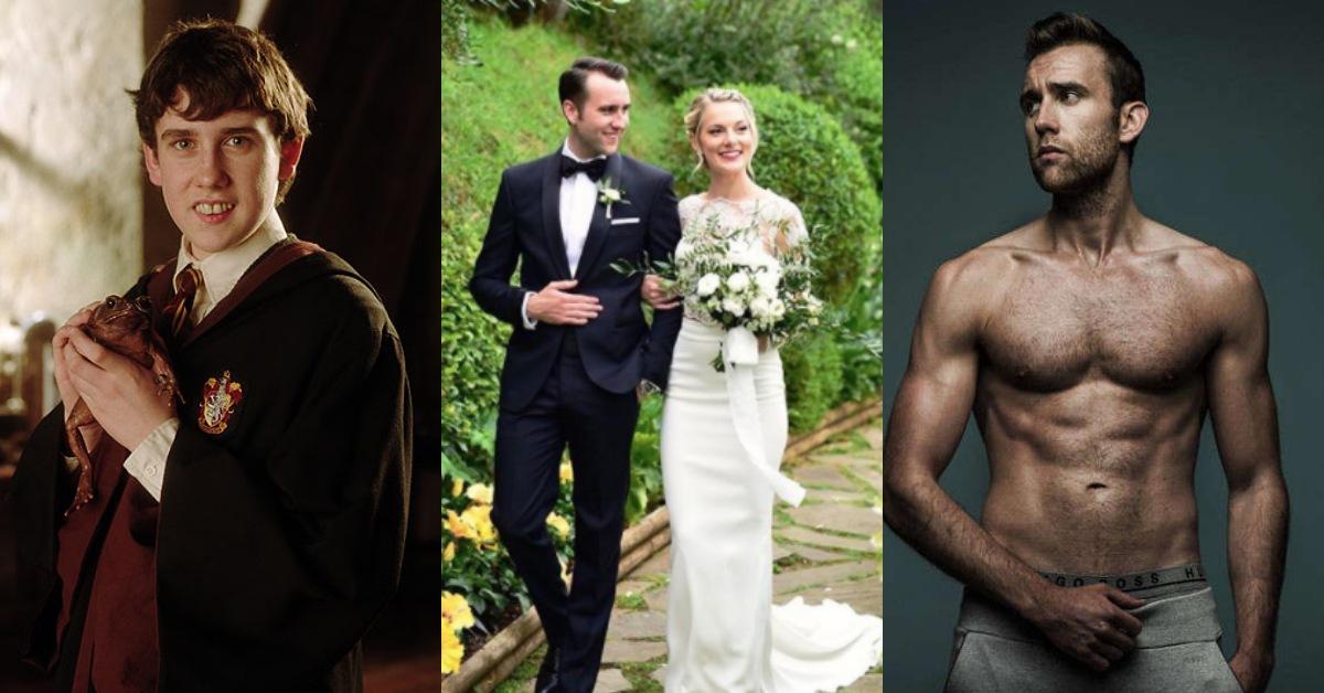 《哈利波特》裡的呆萌奈威男大18變!迎娶超正美嬌娘即將成為幸福人夫